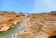 Sam Phan Bok (Grand Canyon of Thailand) Royalty Free Stock Photo