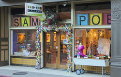 A Sam Poe Gallery Shot, Bisbee, Arizona Stock Image