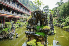 Sam Poh Tong, Ipoh. Sam Poh Tong is a famous cave temple located in Gunung Rapat, about 5km south of Ipoh Stock Photo