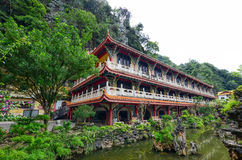 Sam Poh Tong Temple in Gunung Rapat Stock Image