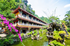 Sam Poh Tong Temple which is located at Gunung Rapat in the south of Ipoh. Stock Images
