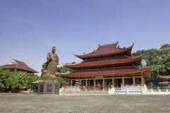 Sam Poo Kong tempel, också som är bekant som den Gedung Batu templet Fotografering för Bildbyråer
