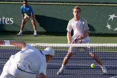Sam querrey doubles Royalty Free Stock Photography