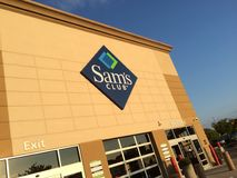 Sam's Club. Discount wholesale store Stock Images