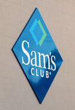 Sam's club logo. Sam's club sign and logo Stock Images