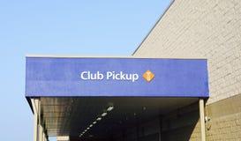 Sam`s Club Pick-up Royalty Free Stock Photo