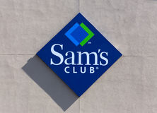 Sam's Club Sign Stock Image
