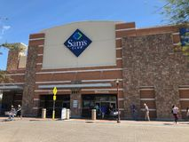 Sam's Club. Store located in Gilbert Arizona Royalty Free Stock Photo
