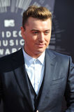 Sam Smith. LOS ANGELES, CA - AUGUST 24, 2014: Sam Smith at the 2014 MTV Video Music Awards at the Forum, Los Angeles Royalty Free Stock Image