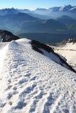 sam szczyt wzgórza Zdjęcia Royalty Free