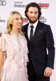 Sam Taylor-Johnson y Aaron Taylor-Johnson Fotografía de archivo