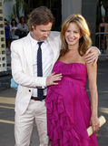 Sam Trammell and Missy Yager Stock Photos