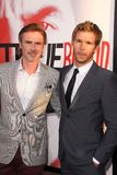 Sam Trammell, Ryan Kwanten at the HBO  Royalty Free Stock Photos