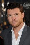 Sam Worthington, lo scontro Immagine Stock