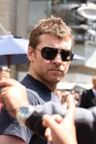 SAM Worthington Stock Afbeelding