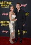 Sam Worthington & Lara Bingle Royalty Free Stock Image