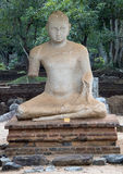 Samadhi雕象 库存图片