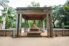 Samadhi Buddha statua, Anuradhapura Obraz Royalty Free