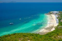Samae Beach, Lan Island, Pattaya, Thailand. Stock Photos