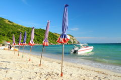 Samae beach, Patataya Thailand. Royalty Free Stock Image