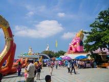 saman rattanaram寺庙 库存图片