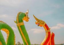 saman rattanaram寺庙 库存照片