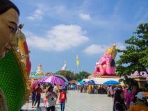 saman rattanaram Tempel Stockfoto