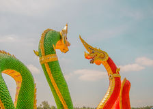 saman rattanaram Tempel Stockfotos