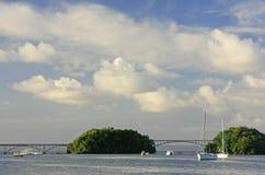 Samana bay, Dominican Republic Stock Images