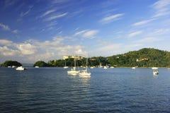 Samana bay, Dominican Republic Stock Photos