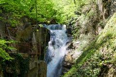 Samandere Waterfall in Duzce Royalty Free Stock Photo