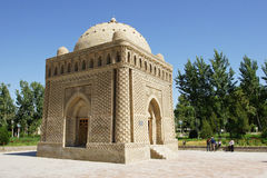 Samanida Grab, Bukhara, Uzbekistan Stockbild