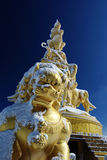Samantabhadra on the MT.Emei Royalty Free Stock Images