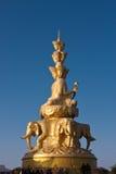Samantabhadra Statue Royalty Free Stock Image