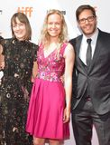 Samantha McIntyre, Lynette Howell Taylor i Terry Dougas, uczęszczamy ` jednorożec sklepu ` premiera Obraz Stock
