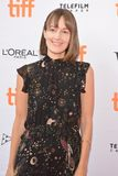 Samantha McIntyre `Unicorn Store` premiere at 2017 Toronto International Film Festival Stock Images