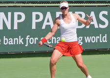 Samantha STOSUR at the 2009 BNP Paribas Open Royalty Free Stock Images