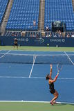 Samantha Stosur. Training for the US Open grand slam tournament in New York Stock Photography