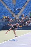 Samantha Stosur. Training for the US Open grand slam tournament in New York Royalty Free Stock Images