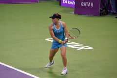 Samantha Stosur 5. DOHA-QATAR: FEBRUARY 17: Tennis Player Samantha Stosur at Qatar Total Open on February 17, 2012 in Doha, Qatar. The event was held from stock photos