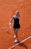Samantha STOSUR (AUS) en Roland Garros 2010 Fotografía de archivo