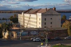 SAMARA, ΡΩΣΙΑ - 12 ΟΚΤΩΒΡΊΟΥ 2016: Παλαιά κτήρια στο κέντρο της Samara προηγούμενο Kuybyshev Στοκ Φωτογραφία