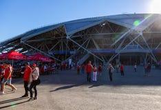 Samara Arena football stadium Royalty Free Stock Photography
