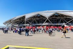 Samara Arena football stadium Royalty Free Stock Photos