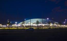 Samara Arena-Fußballstadion Samara - die Stadt, welche die Fußball-Weltmeisterschaft in Russland im Jahre 2018 bewirtet stockfoto