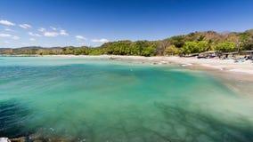 Samara beach Costa Rica. With sun stock photos