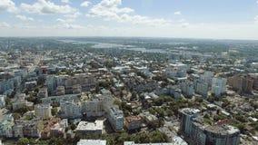 Samara city historical center stock footage