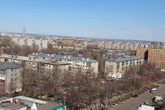 Samara is a city in Russia and houses in which Russian people lives Royalty Free Stock Images
