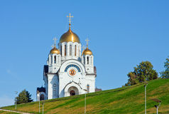 Samara city, Russia, view on  cathedral Stock Images