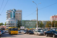 Samara city, street Stock Photos